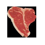 Raw, T-Bone Grilling Steak